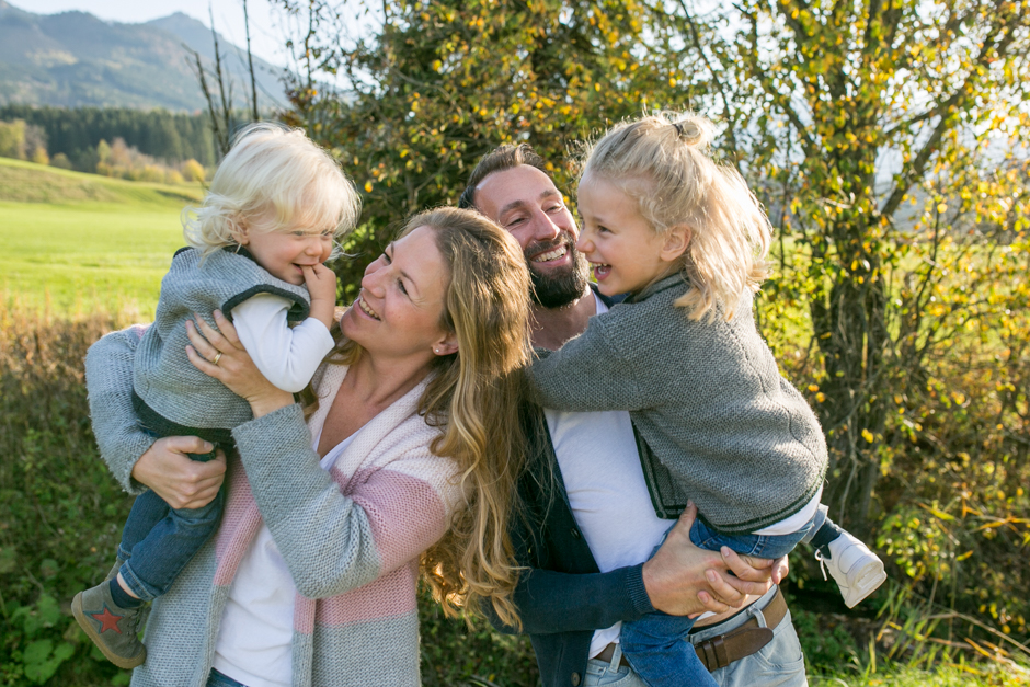 Familienbilder in den Bergen, Alpen, Rosenheim, Chiemsee, Chiemgau
