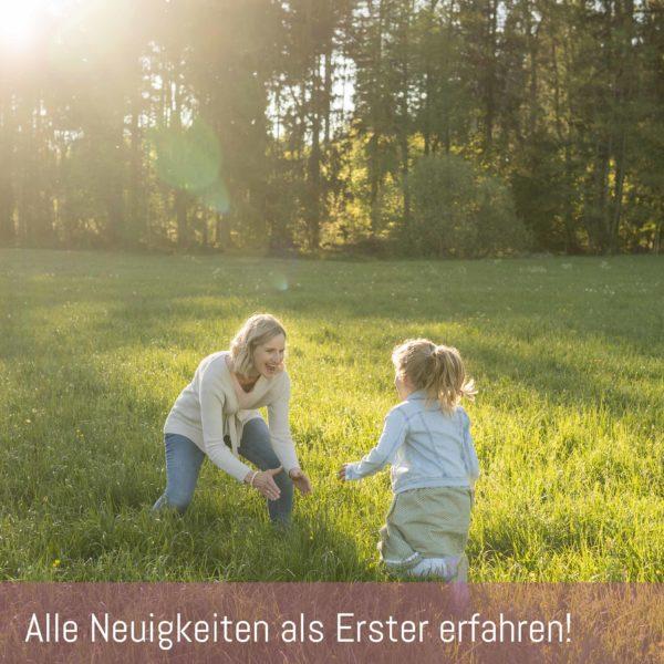 Newsletteranmeldung Familienfotografie